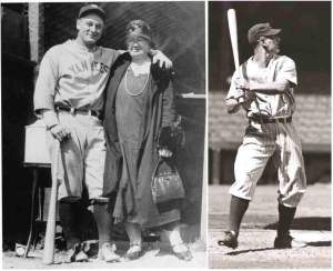 Lou gehrig & Mother