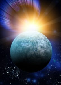 """Conceptual Artwork Of Kepler 20f Earth Like Planet"" image courtesy of Victor Habbick/ FreeDigitalPhotos.net"