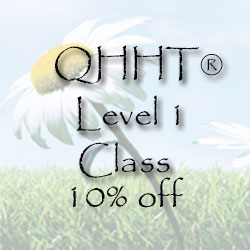 QHHT Level 1 class 10% off