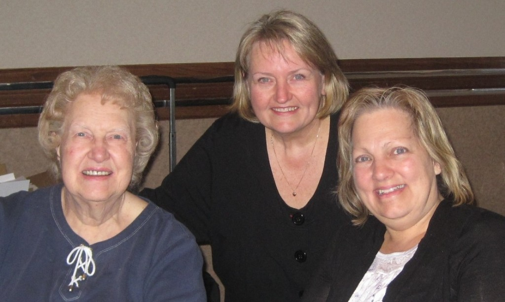 Dolores & Julia Cannon and myself